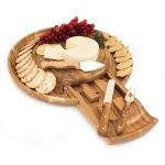 Colby Cheese Board and Tray with Tools by Picnic Time