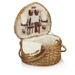 The Heart Picnic Basket by Picnic Time