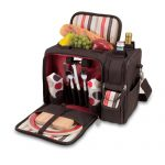 Malibu Moka Insulated Picnic Tote for 2 by Picnic Time