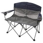 Double Camp Chair by APEX w/ Carry Bag