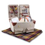 Pioneer Picnic Basket for 2 by Picnic Time