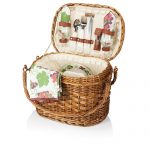 The Romance Picnic Basket by Picnic Time