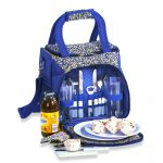 Bailey 2-Person Organizer Picnic Tote April Cornell by Picnic Plus