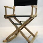 Gold Medal Folding Rocking Directors Chair