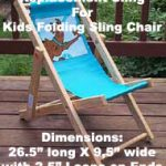 Kid's Folding Sling Chair Replacement Sling – Personalization Available