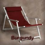 Aluminum Sling Chair by Sutton Bridge – Personalization Available