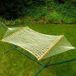 Single Size Cotton Rope Hammock