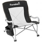 Sling Style Comfortable Curvy Low Rider Chair by Eureka