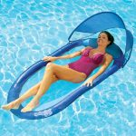 Swimways Spring Floating Hammock with Canopy
