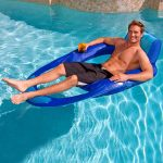 Swimways XL Spring Floating Recliner Lounger