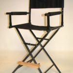 Tall 30″ Steel Director's Chair by Stadium Chair