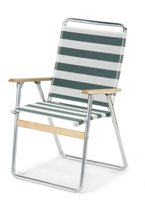 High Back Easy Ineasy Out Folding Chair By Telescope Portable