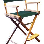 Gold Medal 24″ Counter Height CONTEMPORARY Directors Chair