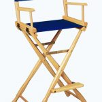Gold Medal 30″ Bar Height CLASSIC Directors Chair