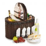Torrington Picnic Basket for 4 by Picnic Plus