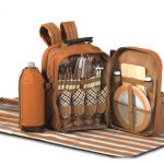 Tremont Picnic Backpack for 4 by Picnic Plus